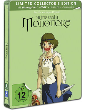 Prinzessin Mononoke - Limited Collector's Edition Blu-ray (2 Discs)