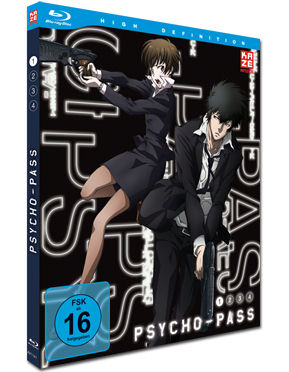 Psycho-Pass Vol. 1 Blu-ray