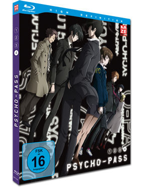 Psycho-Pass Vol. 4 Blu-ray