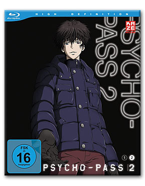 Psycho-Pass II Vol. 2 Blu-ray