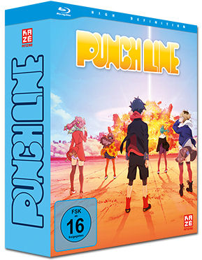 Punch Line Vol. 1 - Limited Edition (inkl. Schuber) Blu-ray