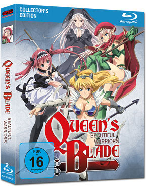 Queen's Blade: Beautiful Warriors - Collector's Edition Blu-ray (2 Discs)