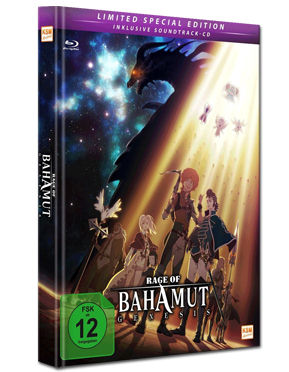 Rage of Bahamut: Genesis - Limited Special Edition Blu-ray (3 Discs)
