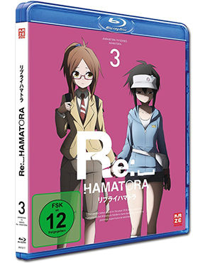 Re:_Hamatora Vol. 3 Blu-ray