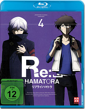 Re:_Hamatora Vol. 4 Blu-ray