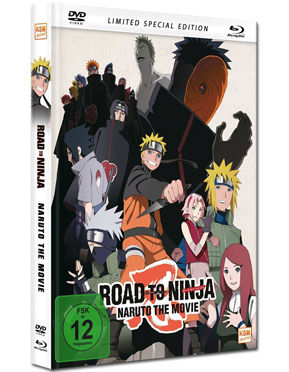 Road to Ninja: Naruto the Movie - Limited Special Edition Blu-ray (2 Discs)