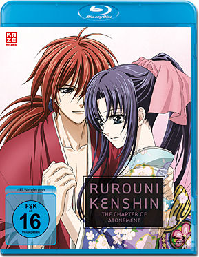 Rurouni Kenshin: The Chapter of Atonement (OVA) Blu-ray