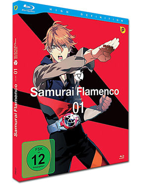 Samurai Flamenco Vol. 1 Blu-ray