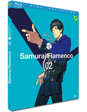 Samurai Flamenco Vol. 2 Blu-ray