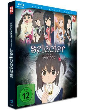 Selector Infected WIXOSS Vol. 1 (inkl. Schuber) Blu-ray