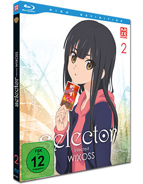 Selector Infected WIXOSS Vol. 2 Blu-ray