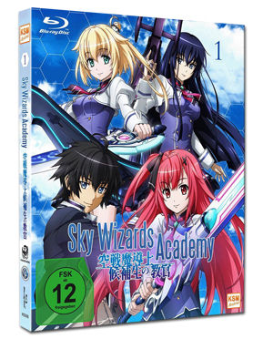 Sky Wizards Academy Vol. 1 Blu-ray