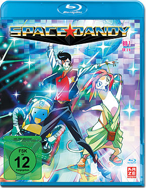 Space Dandy Vol. 1 Blu-ray