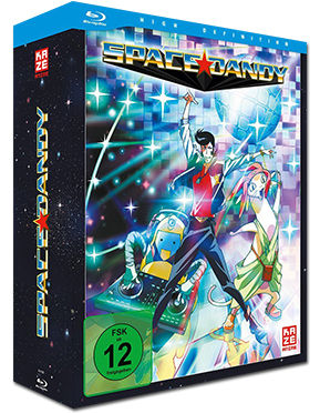 Space Dandy Vol. 1 - Limited Edition (inkl. Schuber) Blu-ray
