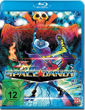 Space Dandy Vol. 2 Blu-ray