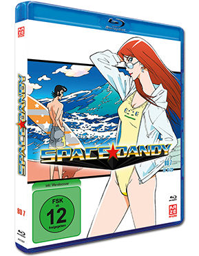 Space Dandy Vol. 7 Blu-ray