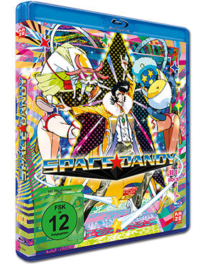 Space Dandy Vol. 8 Blu-ray