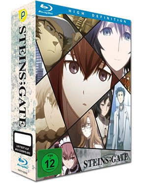 Steins;Gate Vol. 1 - Limited Edition (inkl. Schuber) Blu-ray
