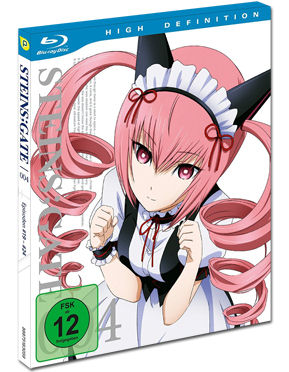 Steins;Gate Vol. 4 Blu-ray