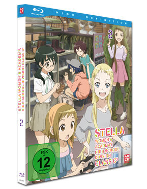 Stella Women's Academy Vol. 2 Blu-ray
