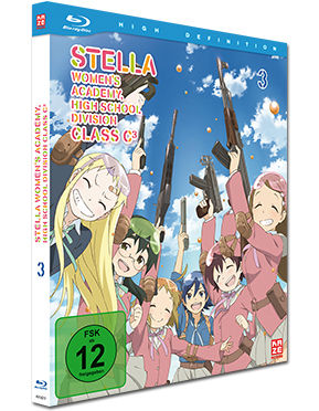Stella Women's Academy Vol. 3 Blu-ray