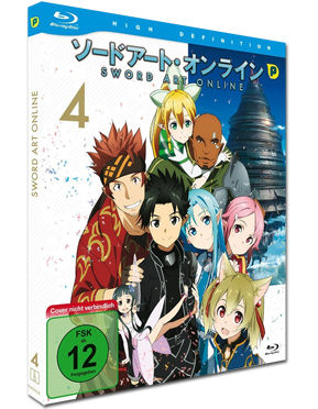 Sword Art Online Vol. 4 Blu-ray
