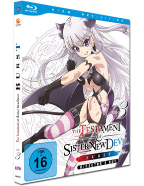 Testament of Sister New Devil (BURST) Vol. 3 Blu-ray
