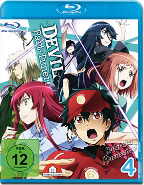 The Devil is a Part-Timer! Vol. 4 Blu-ray