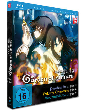 The Garden of Sinners - Film 5-7 Blu-ray