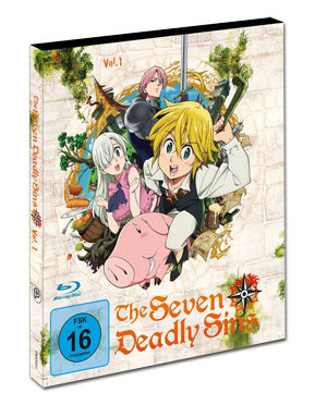 The Seven Deadly Sins Vol. 1 Blu-ray
