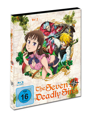 The Seven Deadly Sins Vol. 2 Blu-ray