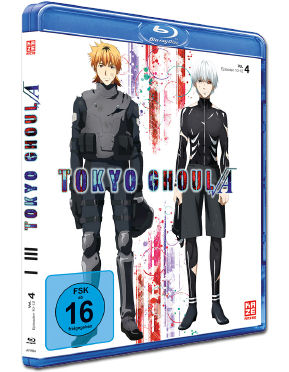 Tokyo Ghoul Root A Vol. 4 Blu-ray