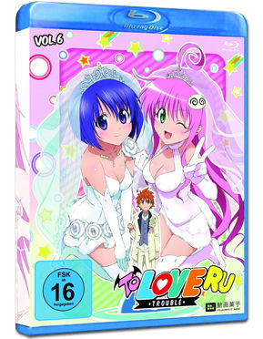 To Love Ru: Trouble Vol. 6 Blu-ray
