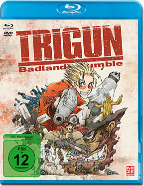 Trigun: Badlands Rumble Blu-ray (2 Discs)