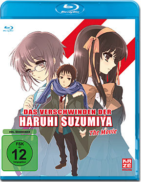 Das Verschwinden der Haruhi Suzumiya - The Movie Blu-ray