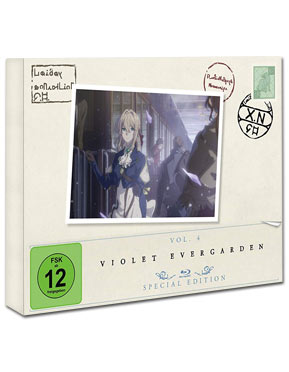 Violet Evergarden: Staffel 1 Vol. 4 - Special Edition Blu-ray