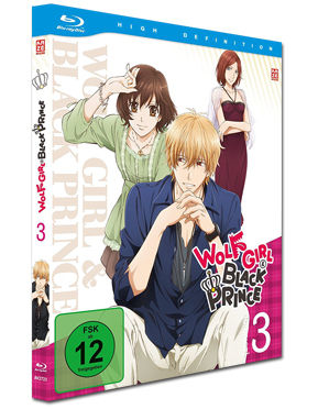 Wolf Girl & Black Prince Vol. 3 Blu-ray