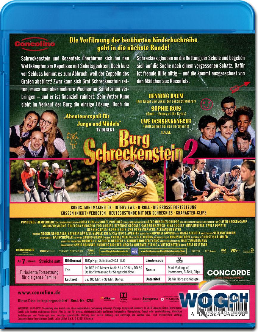 Burg Schreckenstein 2: Küssen nicht verboten! Blu-ray [Blu-ray Filme ...