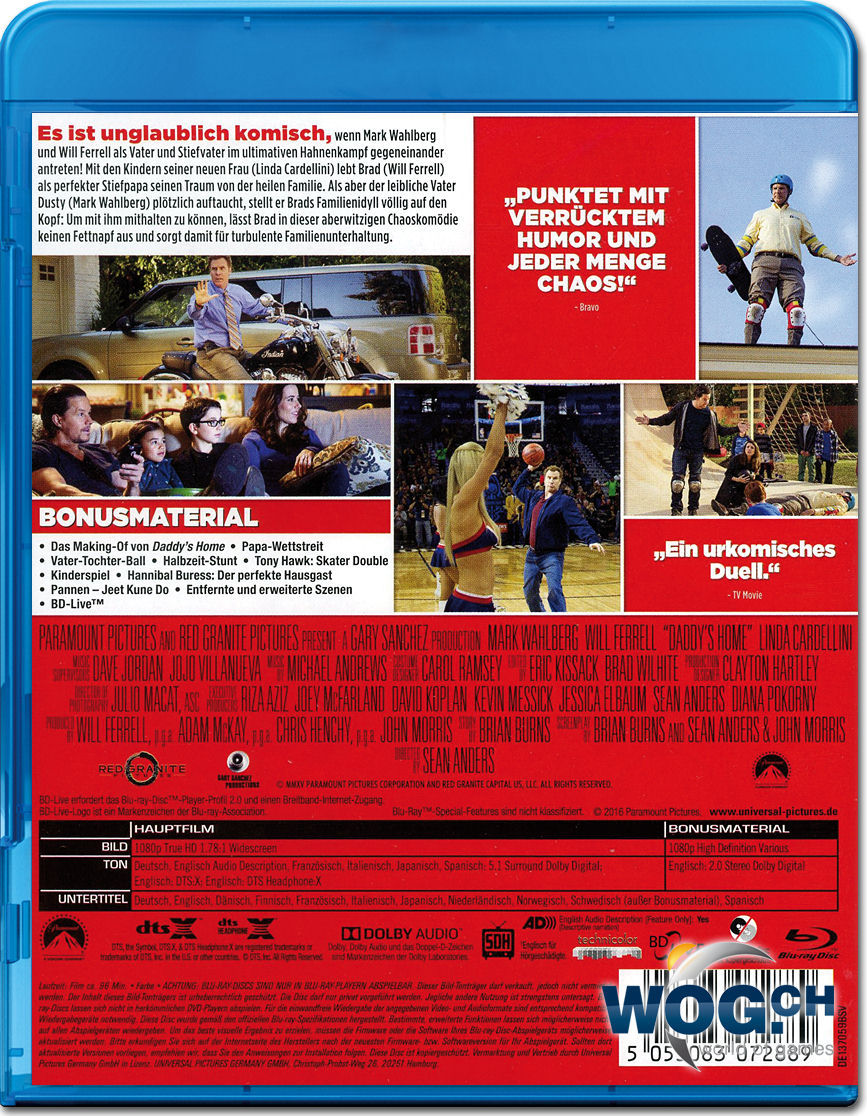 Daddys Home Ein Vater Zu Viel Blu Ray Blu Ray Filme World Of Games