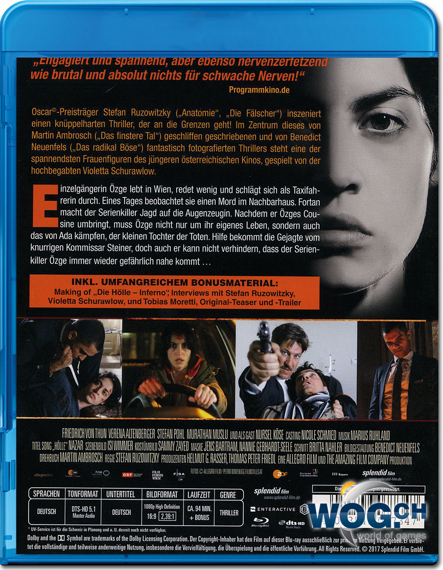 Die Hölle: Inferno Blu-ray [Blu-ray Filme] • World of Games