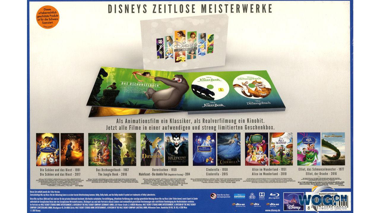 Disney Zeit Zum Träumen Limited Edition Blu Ray 12 Discs Blu Ray Filme