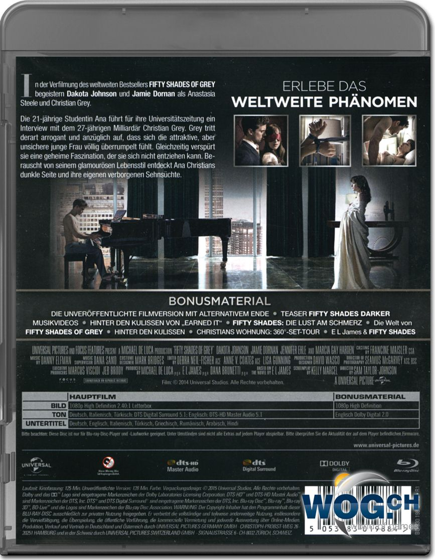 Fifty Shades Of Grey 3 Dvd Deutsch