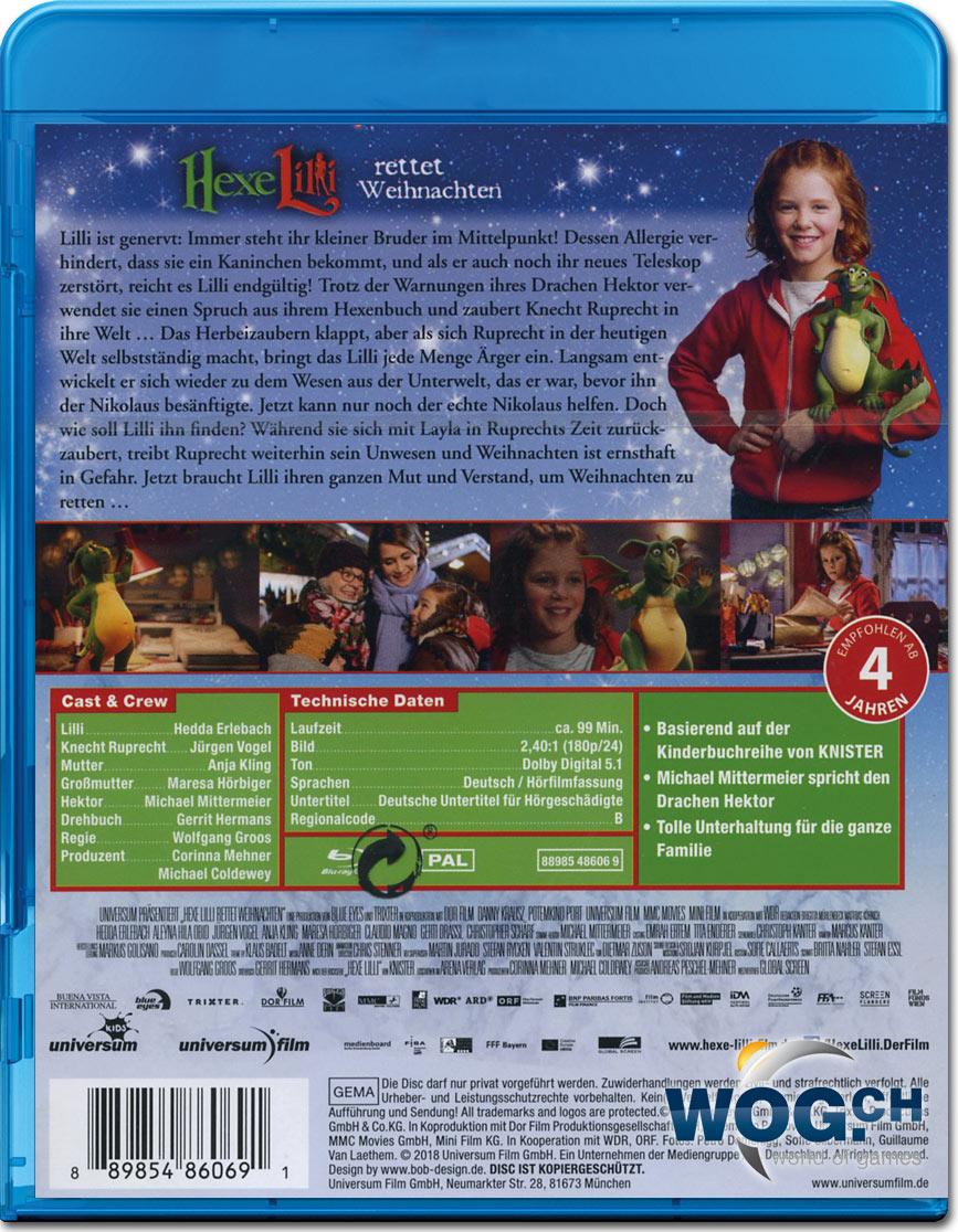 Hexe Lilli Rettet Weihnachten Blu Ray Blu Ray Filme World Of Games