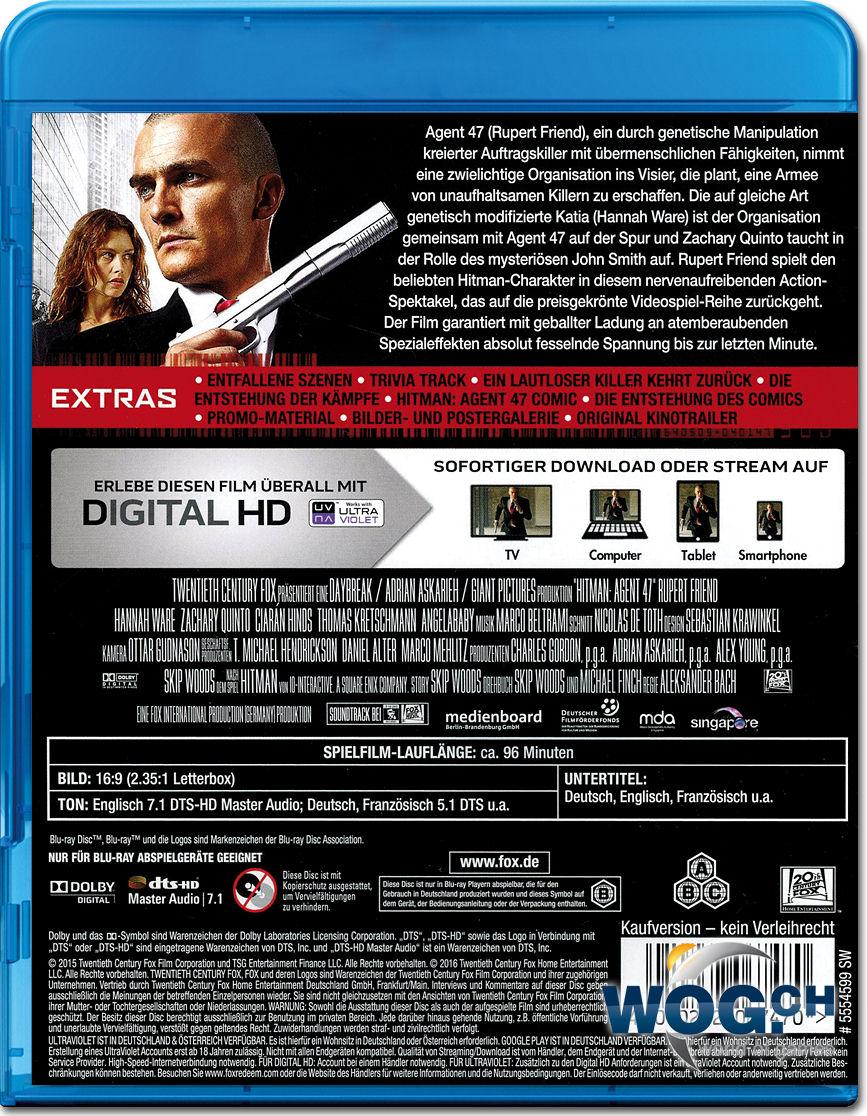Hitman Blu Ray