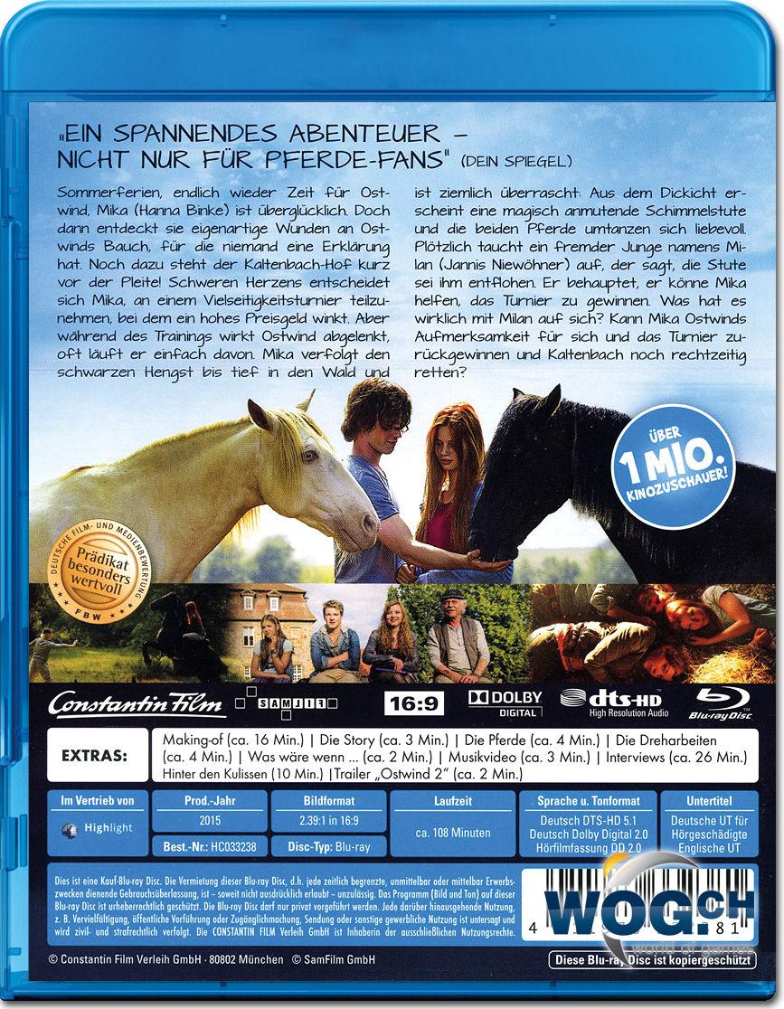 Ostwind 2 Blu-ray [Blu-ray Filme] • World of Games