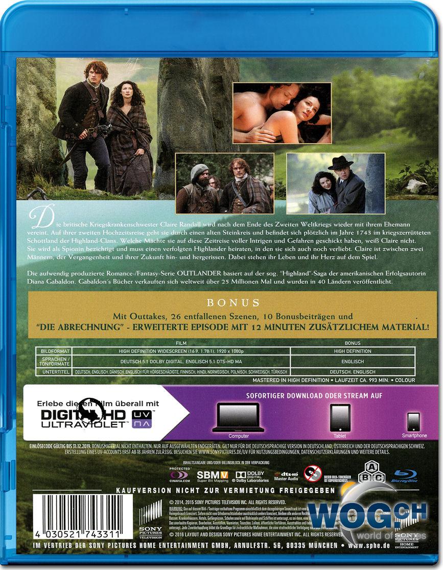 Outlander Staffel 1 Blu Ray
