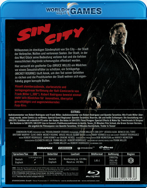 Sin City Recut Stahl Edition Blu Ray - imomtigoo ml