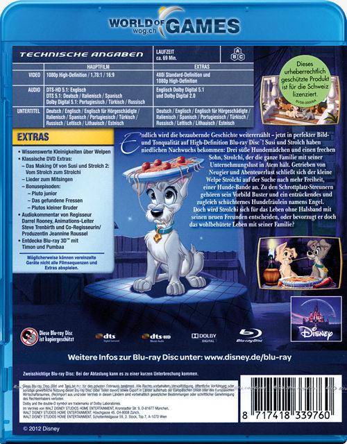Susi Und Strolch 2 Special Edition Blu Ray Blu Ray Filme World