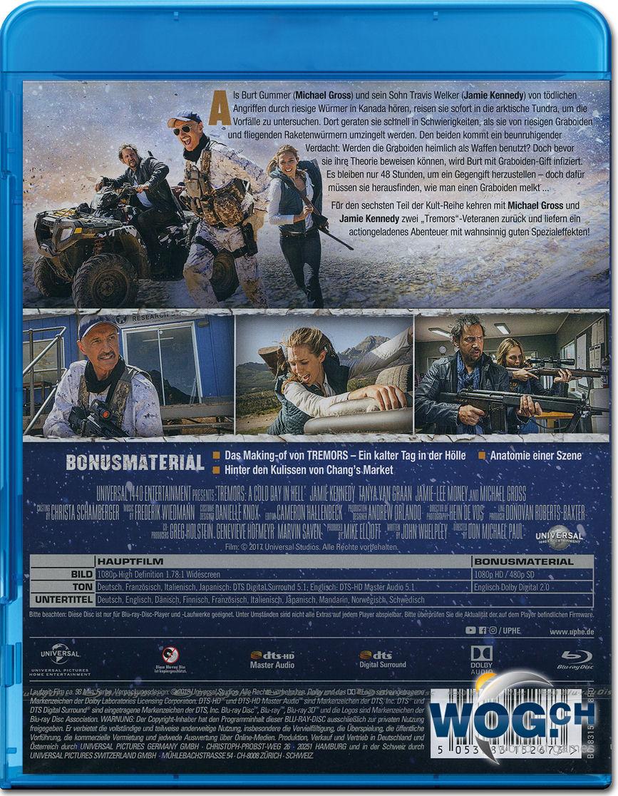 Tremors 6: Ein kalter Tag in der Hölle Blu-ray [Blu-ray Filme ...