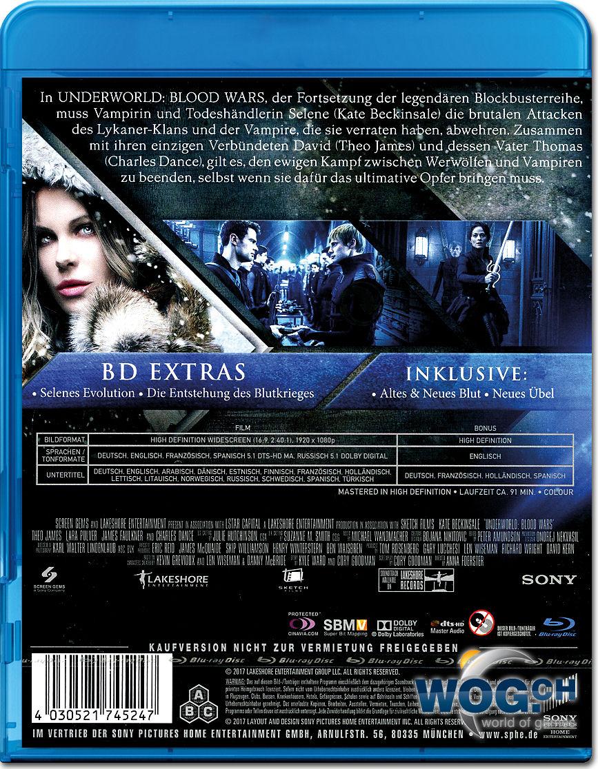 Underworld 5 Blood Wars Blu Ray Blu Ray Filme World Of Games